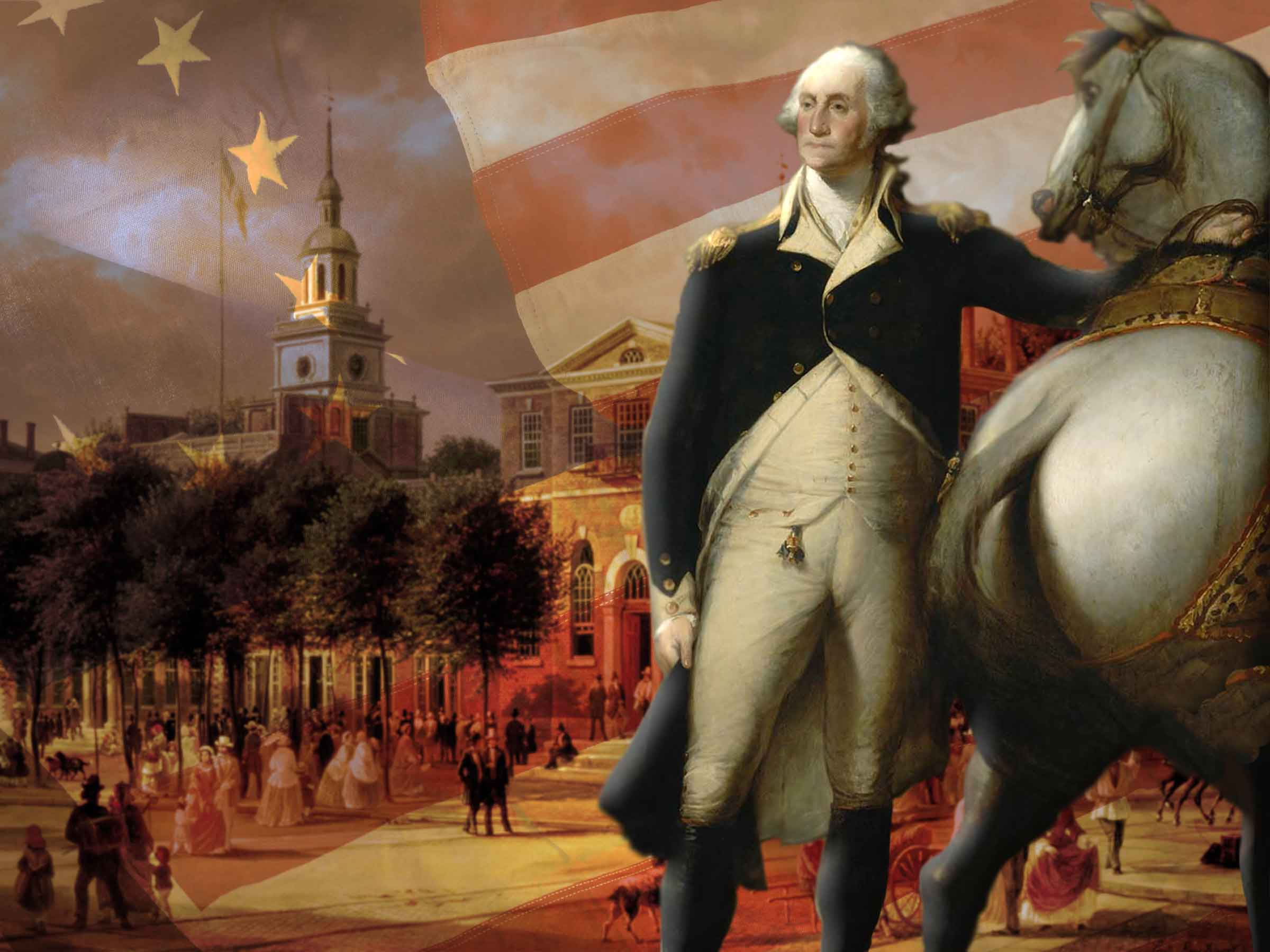 George Washington in Philadelphia in 1787