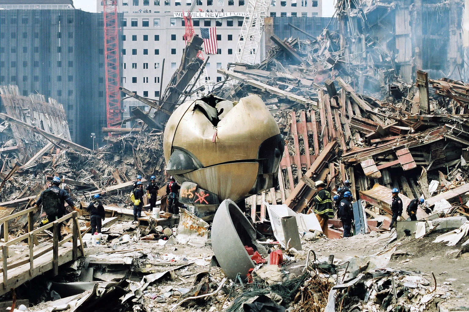 Ground Zero Then And Now Interactive - Nyc map ground zero