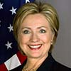 Small portrait of Hillary Clinton