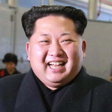 portrait of Kim Jong Un